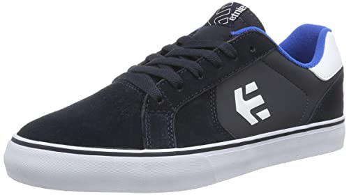 Etnies Fader LS Vulc, Scarpe da Skateboard da Uomo, Blu (Blau (Navy/Blue/White)), 40