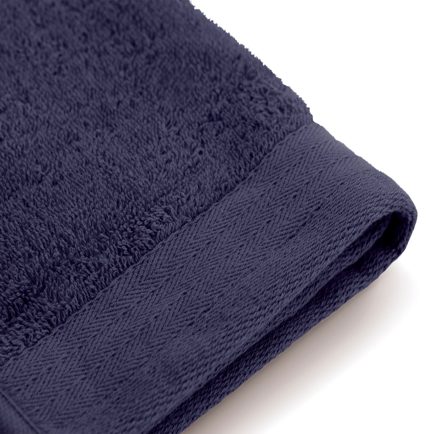 Serviette de bain Soft Cotton Terry 50x100 cm bleu marine