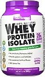 Bluebonnet Nutrition 100% Natural Whey Protein Isolate Powder, Original Flavor, 2.2 Pound