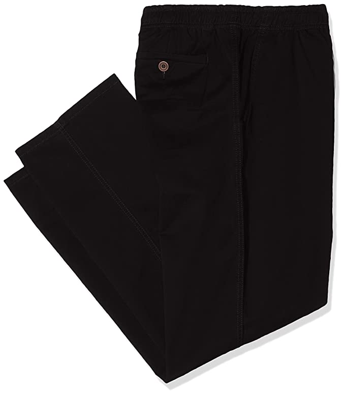 Perfect Collection Cotton Rich Jersey Lounge Trousers Black