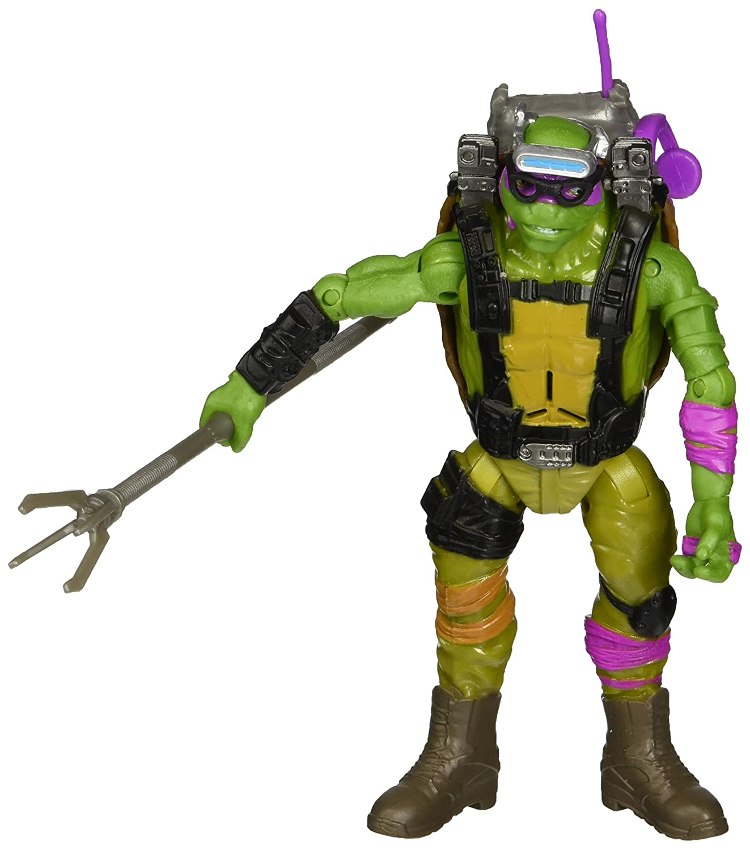 Teenage Mutant Ninja Turtles Movie 2 Out Of The Shadows Donatello Deluxe Figure
