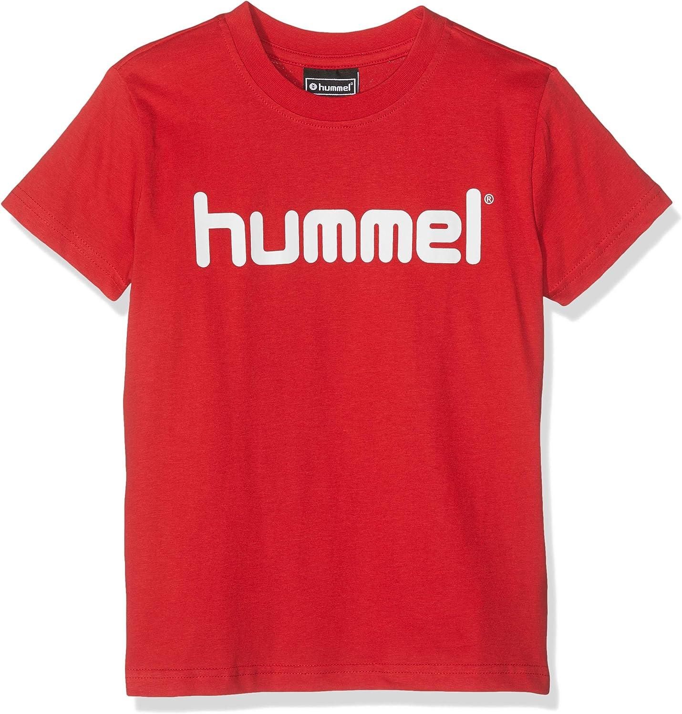 Hummel Unisex Kinder T-Shirts Hmlgo Kids Cotton Logo