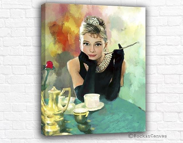 Genial Audrey Hepburn Wall Art, Breakfast At Tiffanys Decor, Printable Fashion Art,  Audrey Hepburn