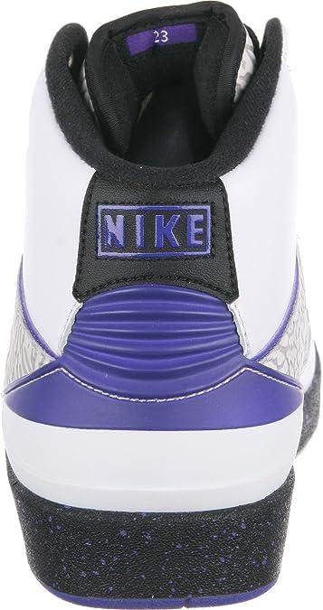 competitive price a2062 64d27 Nike Air Jordan 2 Retro Elephant Print Dark Concord Basketballschuhe  Sneaker weiß grau blau schwarz  Amazon.de  Schuhe   Handtaschen