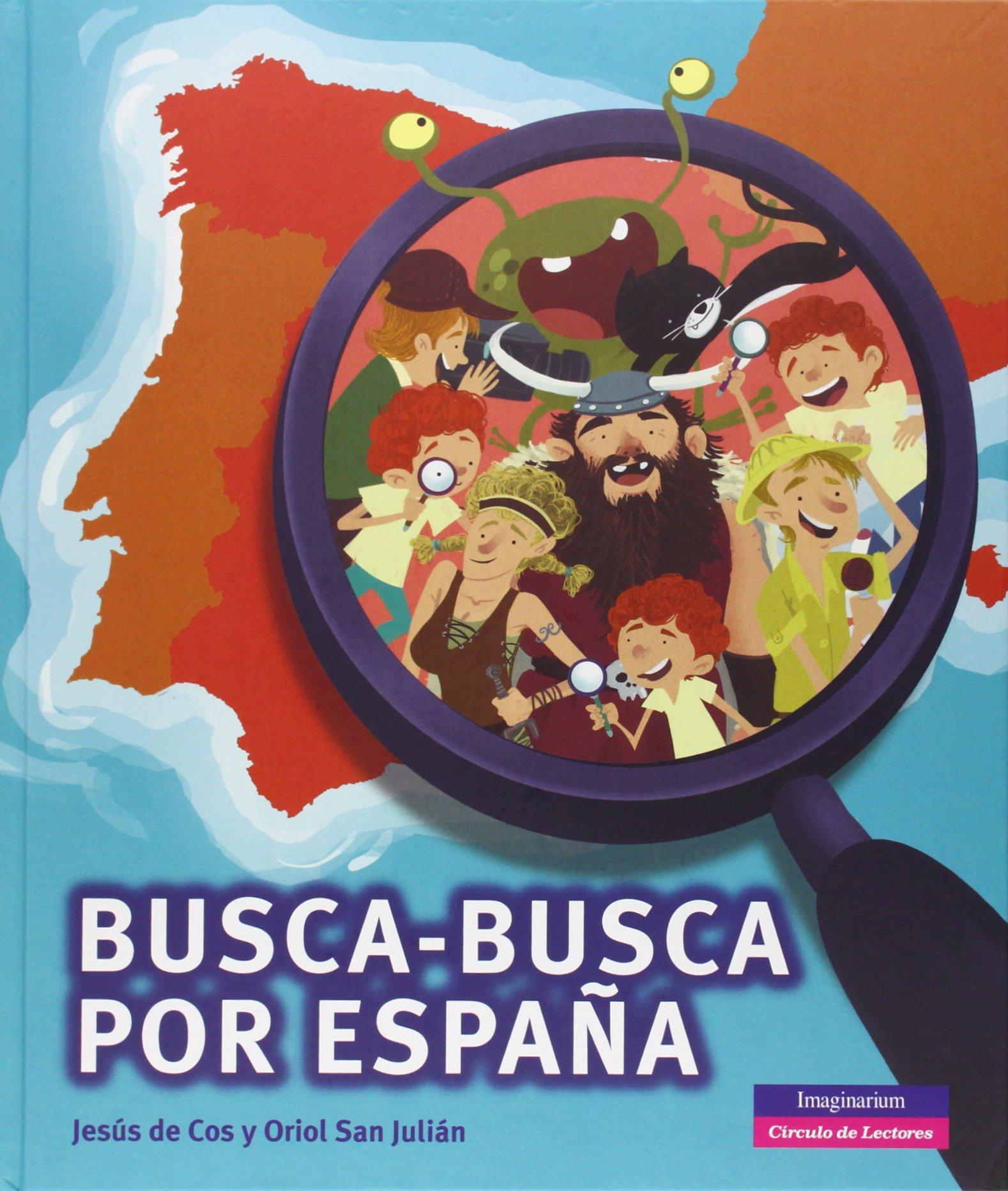 Busca-Busca Por España (Itsimagical): Amazon.es: Jesús de Cos;Oriol San Julián: Libros