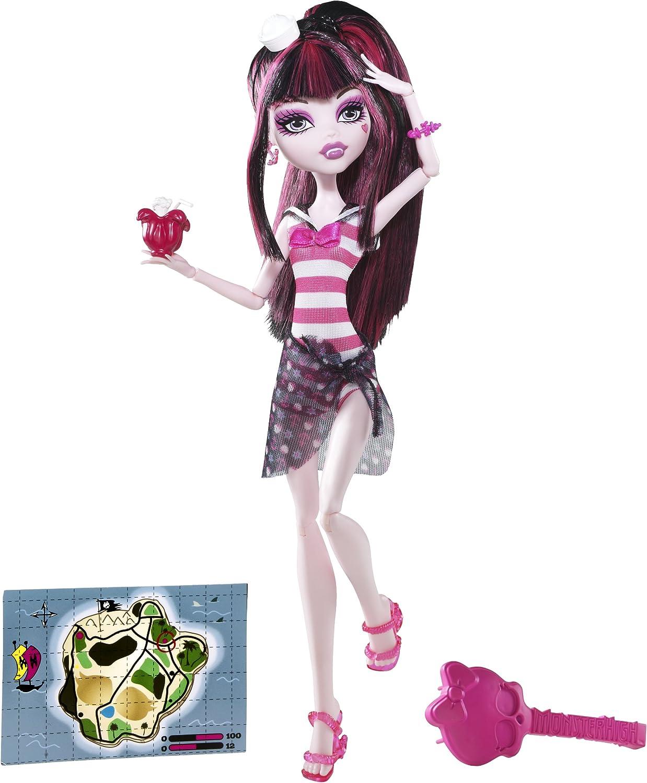 Monster High - Muñecas, Isla Calavera Draculaura (Mattel X3485): Amazon.es: Juguetes y juegos