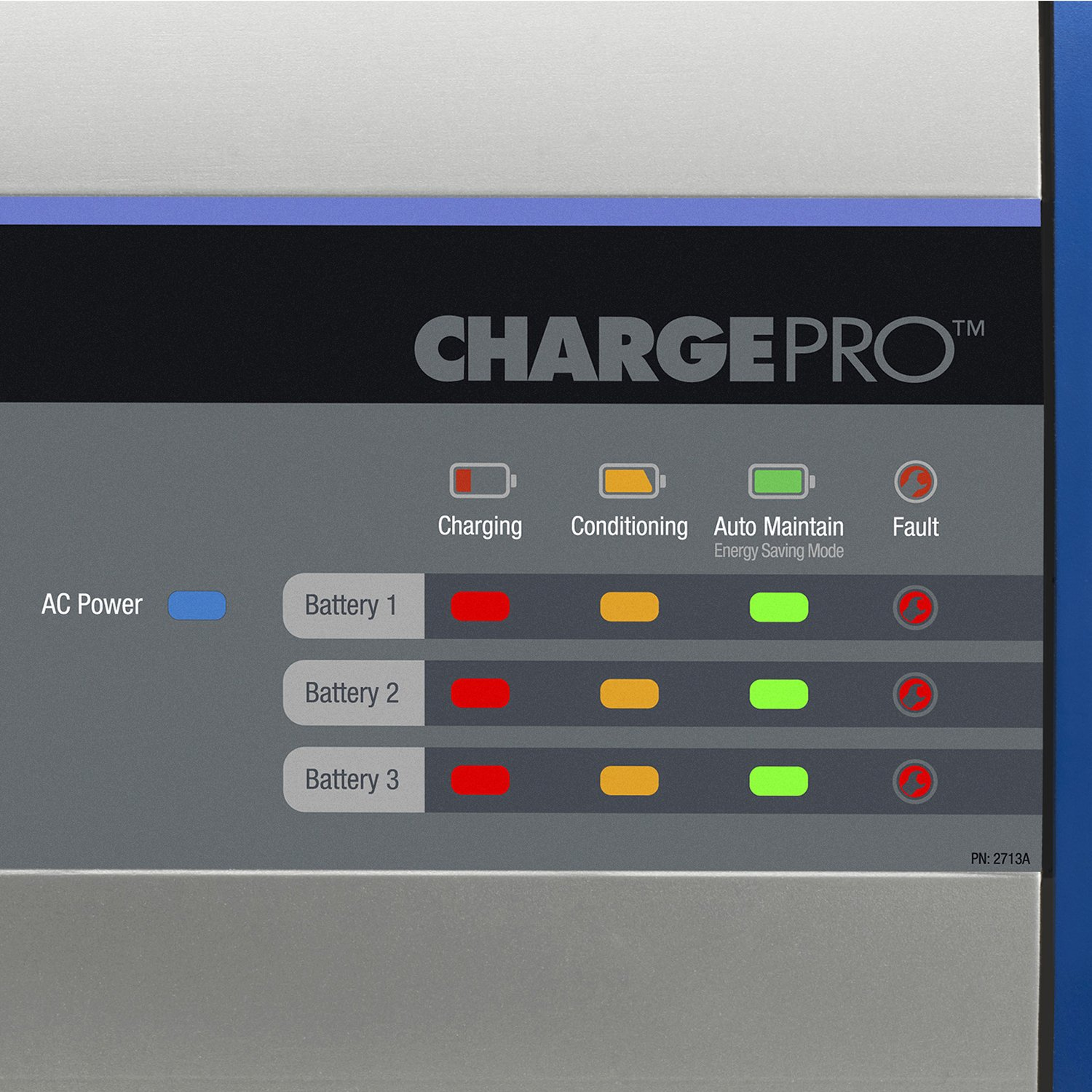 120V Input MARINCO 2 Bank 12V Guest 2707A ChargePro On-Board Battery Charger 8A