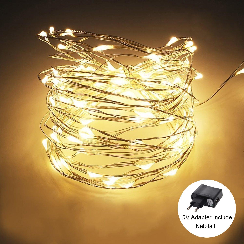 Außen LED Lichterkette, FisherMo \