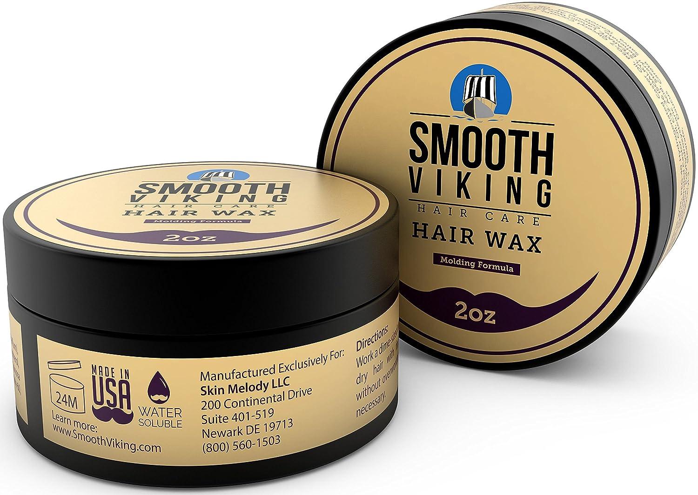 Cera de Pelo para Hombre - Fórmula Corte y Peinado para un Estilo Moderno - Producto Efectivo Y Maleable para Añadir Textura y Brillo - Funciona en Todo ...