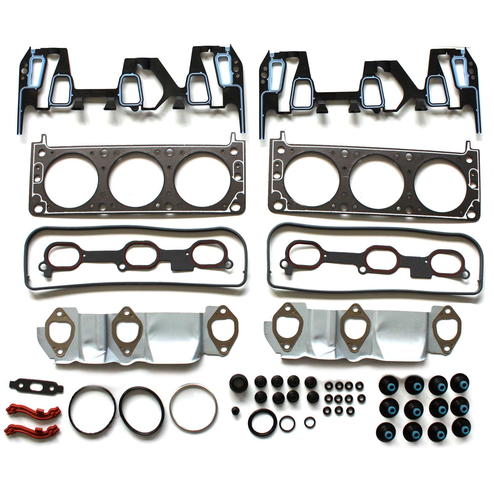 ECCPP Compatible fit for Head Gasket Set 2005-2009 Chevrolet Equinox Pontiac Torrent 3.4L Automotive Replacement Engine Head Gaskets Kit