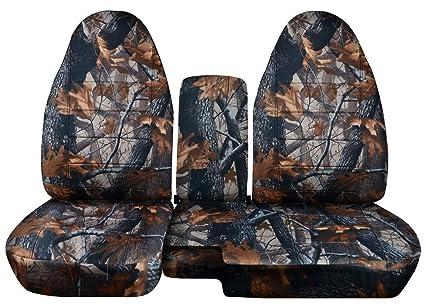 amazon com fits 2004 2012 chevy colorado gmc canyon camo truck seat