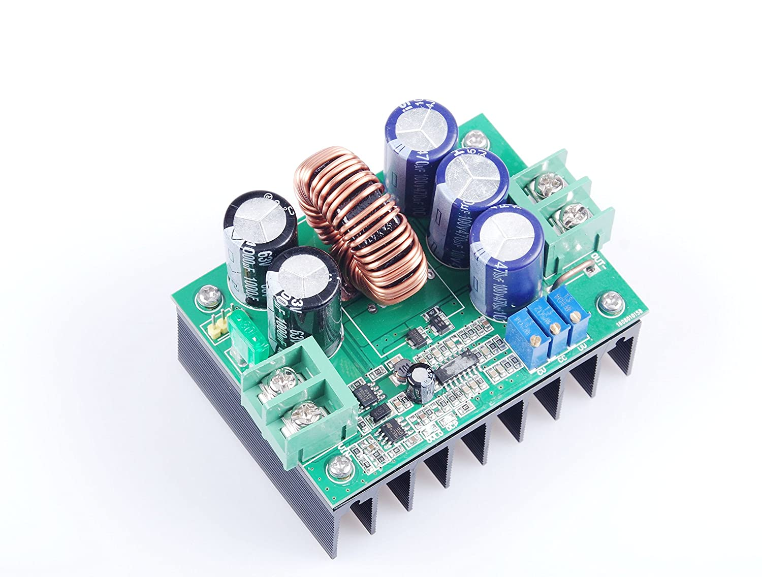 KNACRO NEW 1200W 20A super power constant voltage constant current module//solar boost controller//battery charging module 12V//24V//36V//48V//60V//72V DC 10V-60V to 12V-80V Step Up Power Supply