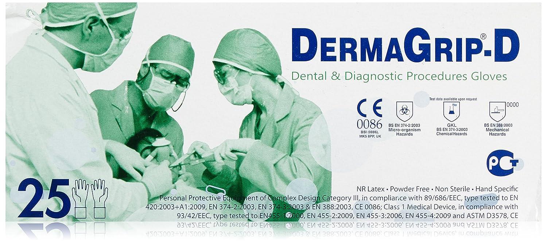 Derma Grip Gel 7.5guanti monouso in nitrile 25pezzi, 1er Pack (1x 25pezzi) DermaGrip 11473