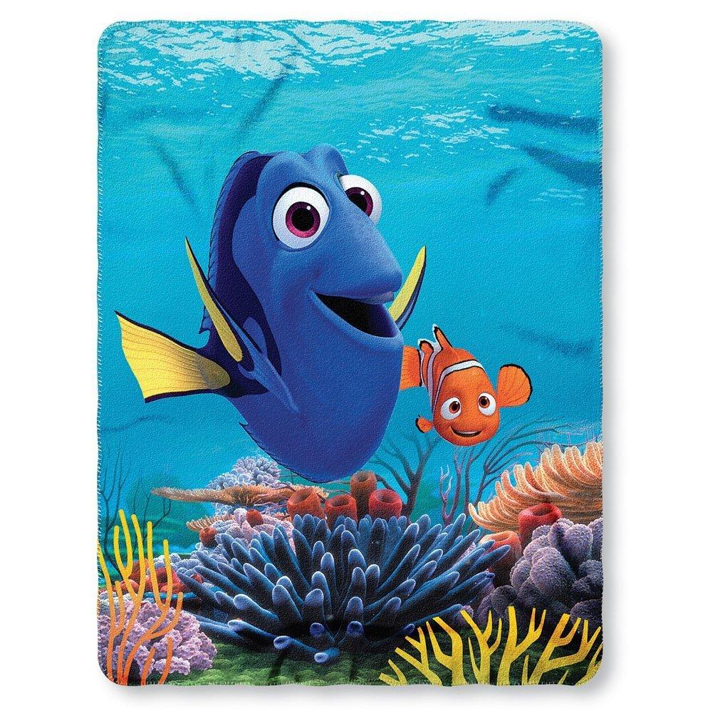 Disney Finding Dory Fleece Throw Blanket 45