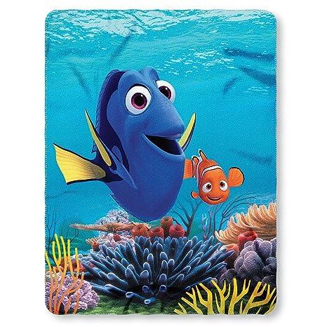 Amazon Disney Finding Dory Fleece Throw Blanket 40 X 40 Toys Enchanting Disney Finding Nemo Fleece Throw Blanket