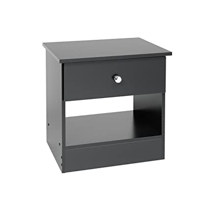 Merveilleux Prepac Black Night Stand