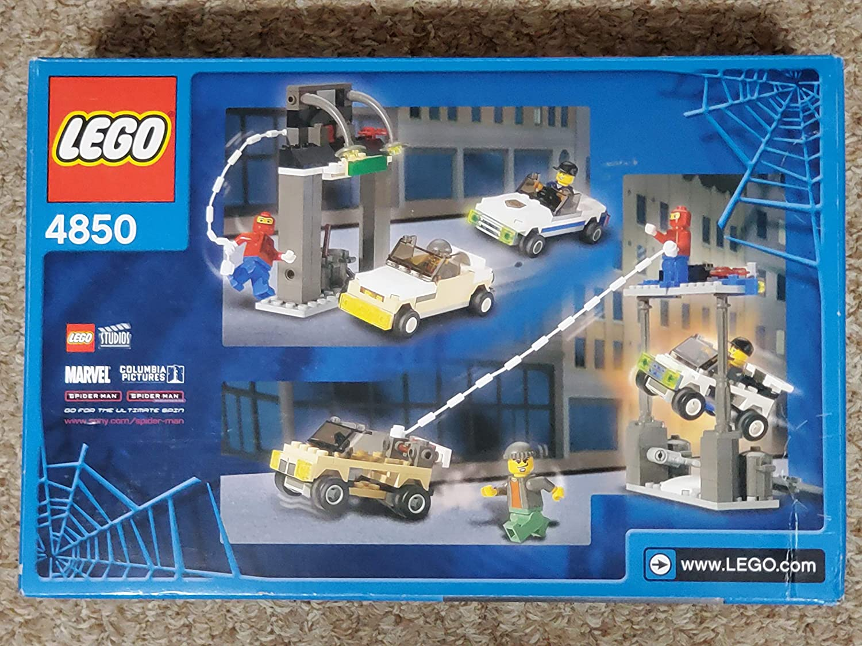 LEGO Spider-Man Set #4850 Spider-Man\'s First Chase