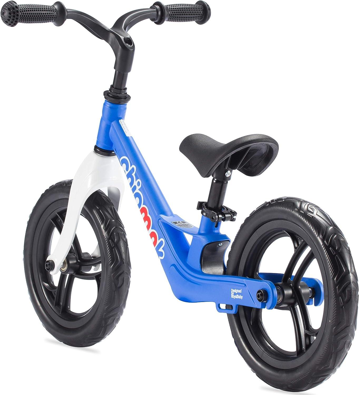 Chipmunk RoyalBaby Balance Bike for 2 to 5 Years Boys and Girls EVA Tire No Pedal Walking Bike with Lightweight Magnesium Frame