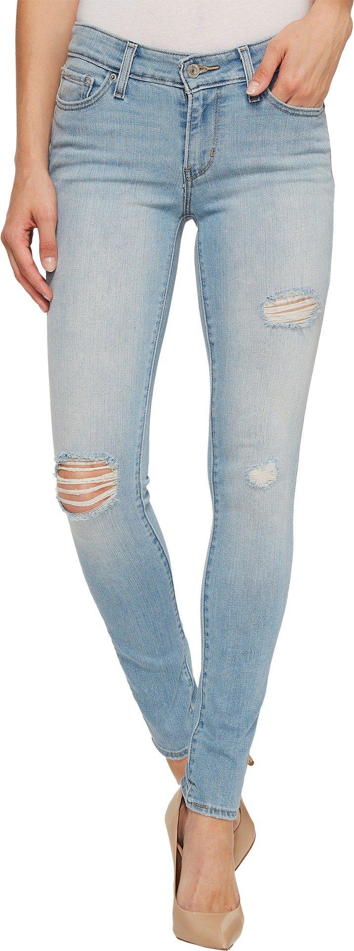 Levi's Women's 711 Skinny Jean, Indigo Rebel, 29 (US 8) R