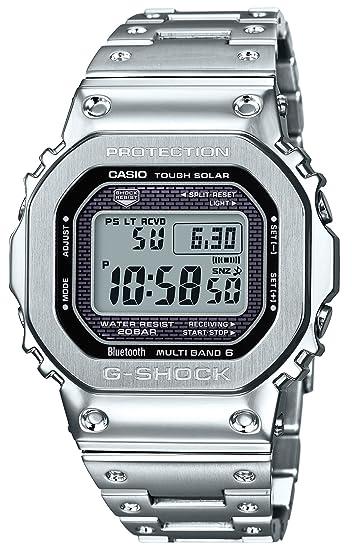 finest selection 7f90f 6291e [カシオ] 腕時計 ジーショック Bluetooth 搭載 電波ソーラー GMW-B5000D-1JF メンズ シルバー