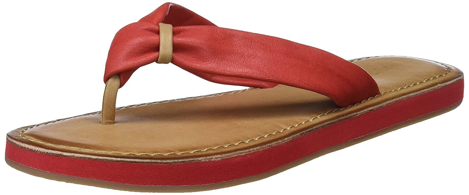 Inuovo Damen 9086 Zehentrenner  39 EU|Rot (Red)