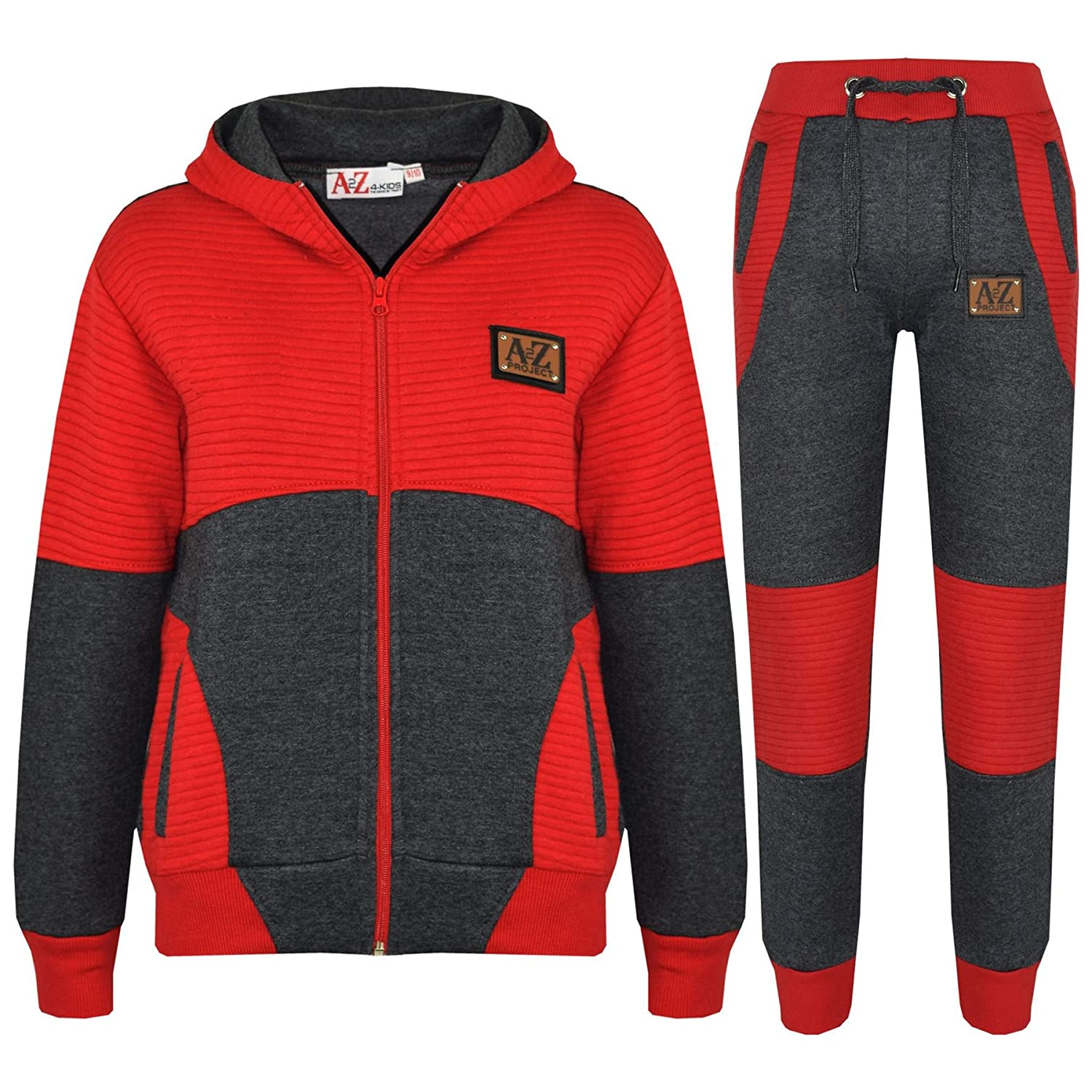 A2Z 4 Kids® Kids Tracksuit Boys Girls Designer's A2Z Project Print Hoodie & Botom Jogging Suit Joggers Age 7 8 9 10 11 12 13 Years