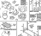 "32"" x 20"" BBQ Smoker/Pit & Grill Plans Blueprints - Model SP-1307"