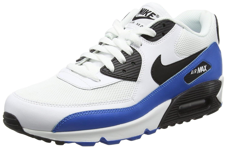 Weiß (Weiß   schwarz-photo Blau-schwarz) Nike Air MAX 90 Essential, Hausschuhe de Running para Hombre