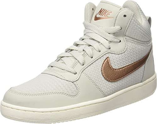 Nike W Court Borough Mid Prem, Scarpe da Basket Donna