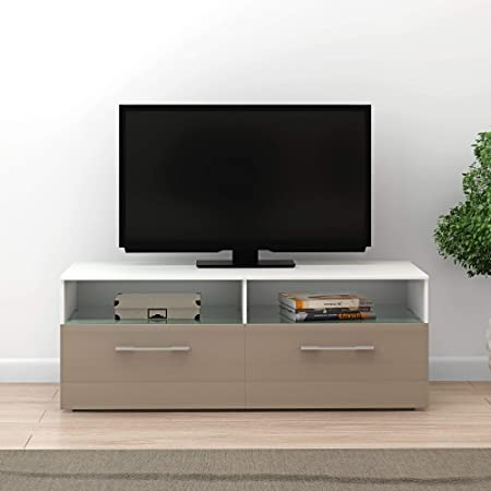 Panana - Mueble para televisor (100 cm, iluminación LED RGB): Amazon.es: Hogar