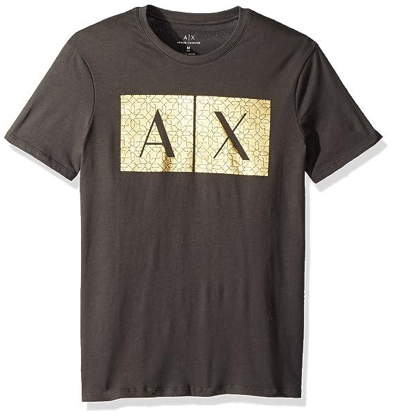 Amazon.com: a|x armani exchange para hombre de oro Quited ...