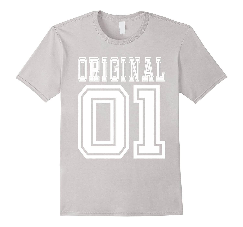 15th Birthday Gift Idea 15 Year Old Boy Girl Shirt 2001 CL