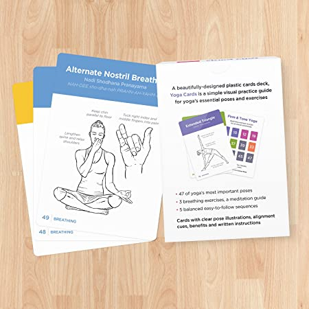 Amazon.com : YOGA CARDS - Premium Visual Study, Class Sequencing ...