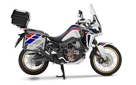 Kit de 2 protecciones adhesivas para maletas de moto Honda Africa Twin CRF1000L VHA-001