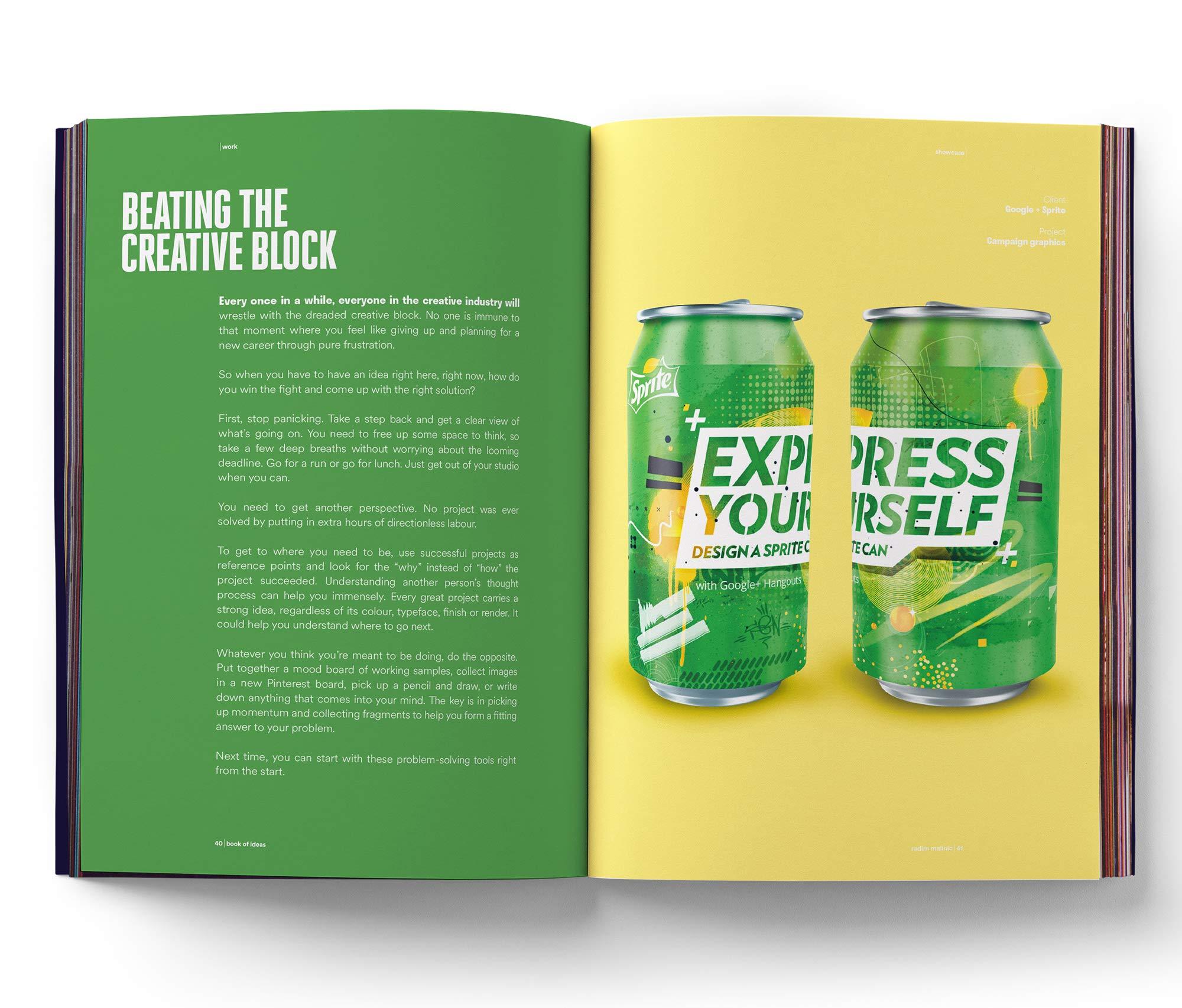 Malinic R Book Of Ideas A Journal Of Creative Direction And Graphic Design Volume 1 Malinic Radim Fremdsprachige Bücher