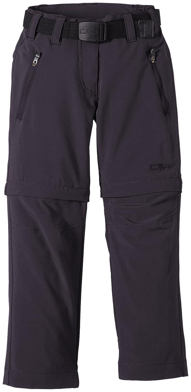 CMP - F.lli Campagnolo - Pantaloni elastici da ragazza, convertibili con cerniera CMP Campagnolo 3T51445