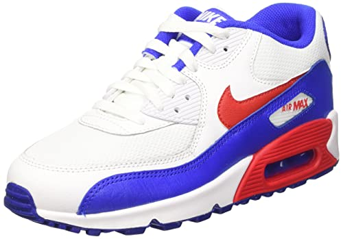 Nike Air MAX 90 Mesh (GS), Zapatillas de Running para Niños: Amazon.es: Zapatos y complementos