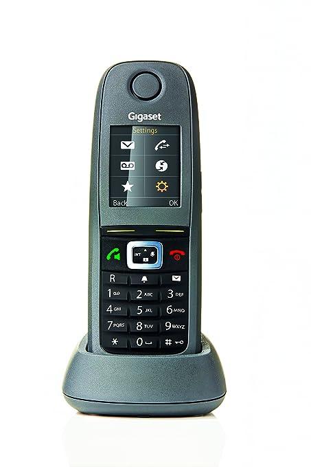 Gigaset R650H Pro - Teléfono supletorio para entornos de polvo y humedad. Compatible con sistemas monocelda y multicelda.
