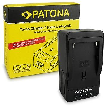PATONA Turbo Cargador de Batería NP-F970 NP-F960 NP-F550 para Sony Camaras, Yongnuo Neewer luz de Video o Monitor: Amazon.es: Electrónica