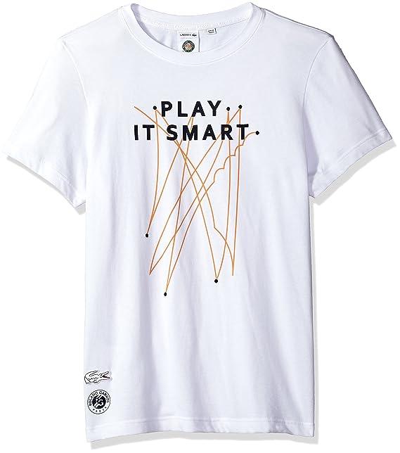 7d20f991 Lacoste Mens Men's Sport Roland Garros Edition T-Shirt T-Shirt: Amazon.ca:  Clothing & Accessories