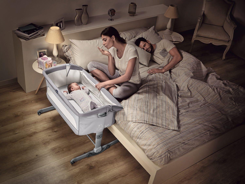 Chicco NEXT2ME Dream Crib, Graphite