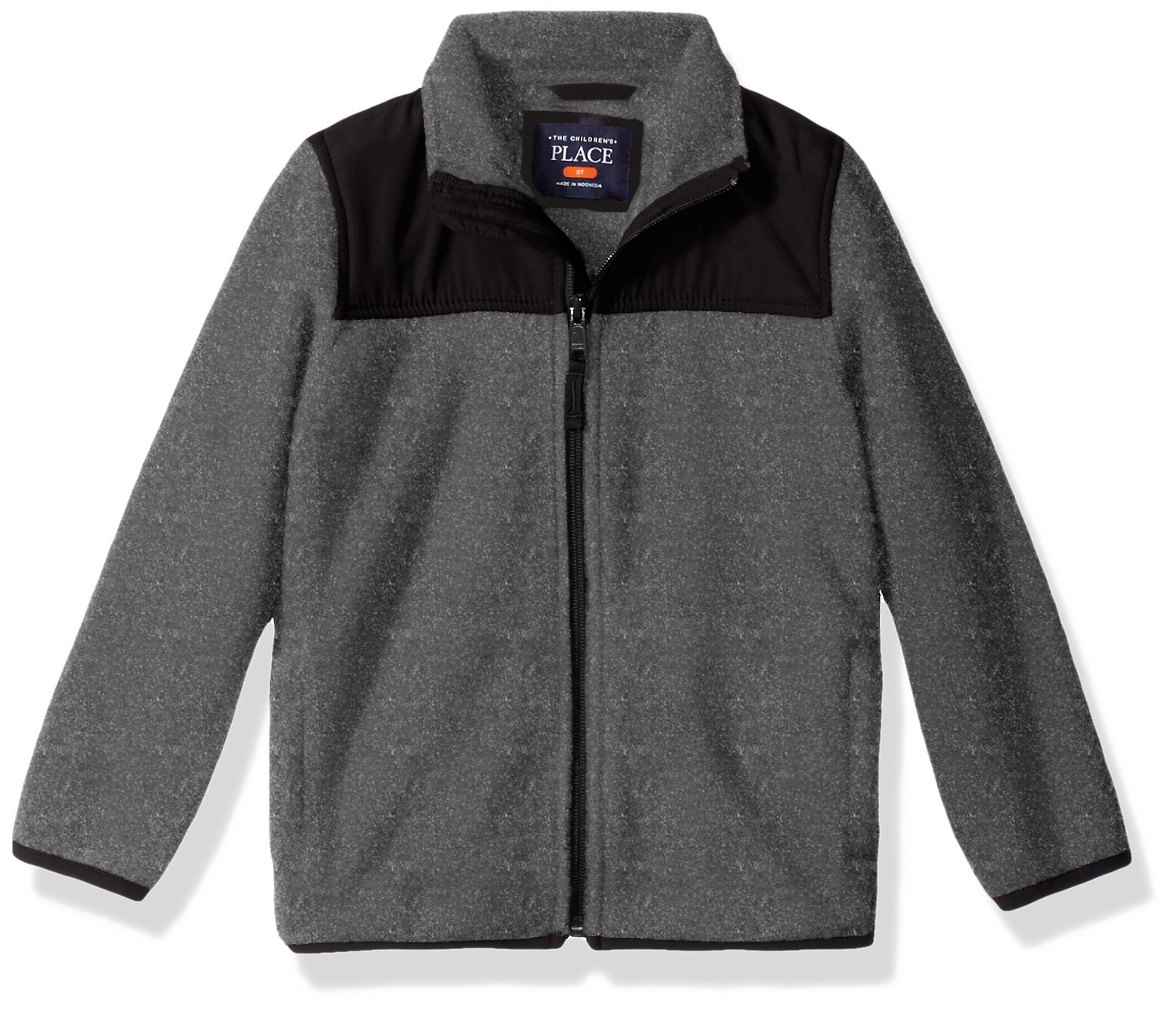 The Children's Place Baby Toddler Boys' Trail Jacket, H/T Eclipse, 4T