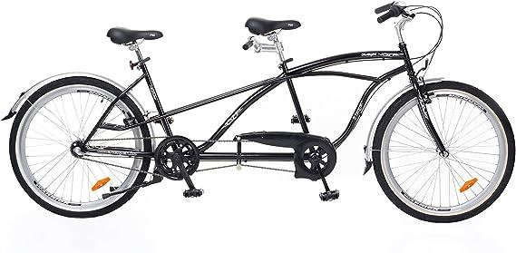 Tándem Bicicleta Cruiser Cambio Nexus Shimano 3, freno contrapedal ...