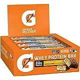 Gatorade Whey Protein Recover Bars, Chocolate Caramel, 2.8 oz bars (12 Count)