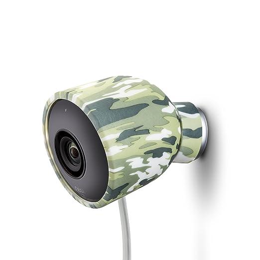 3 opinioni per Cover in silicone colorato per Videocamera di sicurezza Nest Cam per esterni –
