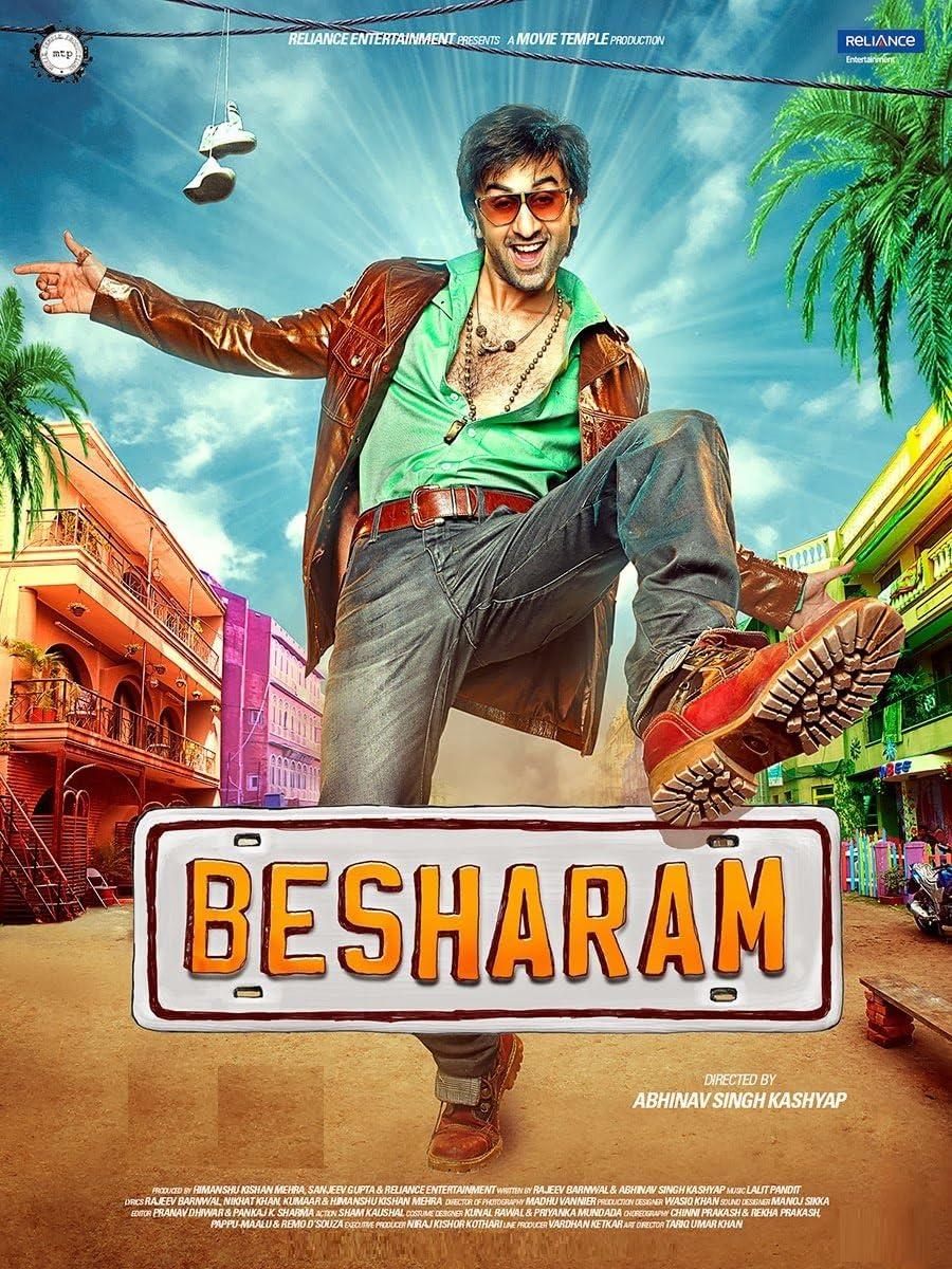 Besharam-Blu Ray Hindi Film / Bollywood Movie / Indian Cinema 2013 Blu Ray  Blu-ray: Amazon.co.uk: DVD & Blu-ray