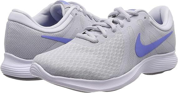 NIKE Wmns Revolution 4, Zapatillas de Running para Mujer, Grigio (Pure Platinum/Royal Pulse/Wolf Grey 013), 37.5 EU: Amazon.es: Zapatos y complementos