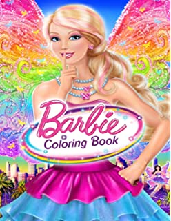 Amazon Com Barbie Coloring Books Coloring Book Vol 1 Stress