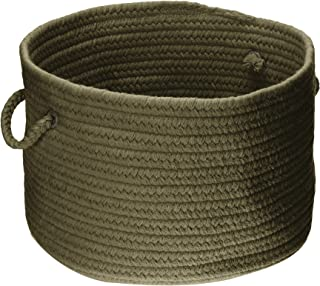 product image for Colonial Mills WL55 14 by 14 by 10-Inch Bristol Storage Basket, Olive