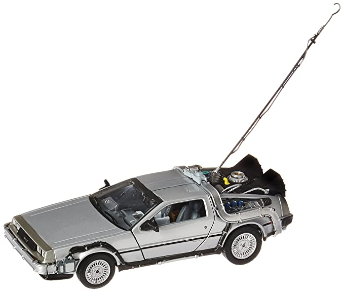 Amazon Com Back To The Future Delorean Time Machine Die Cast Vehicle Toys Games